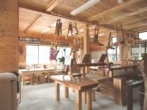 木工体験コーナー