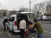 福祉車両を使った移送サービス