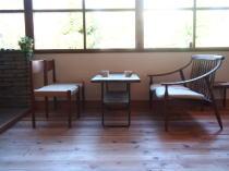 カフェ ブッカブ―の店内